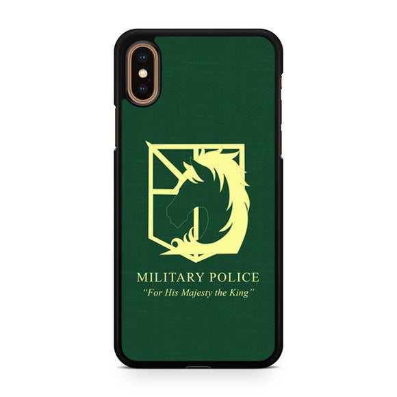 Attack on The Titan miitary Police 2, Custom Phone Case, iPhone Case, iPhone XS Case