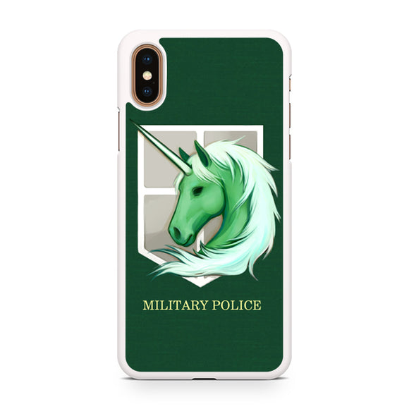 Attack on The Titan miitary Police, Custom Phone Case, iPhone Case, iPhone XS Case