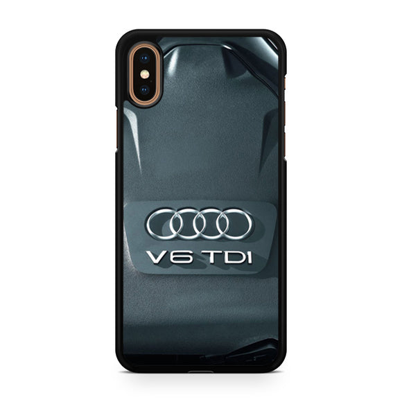 Audi Engine V6, Custom Phone Case, iPhone Case, iPhone XS Case
