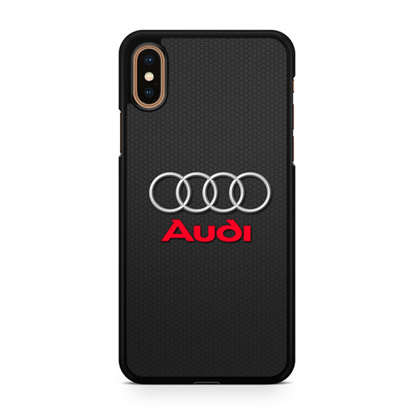 Audi Logo 3 T, Custom Phone Case, iPhone Case, iPhone XS Case