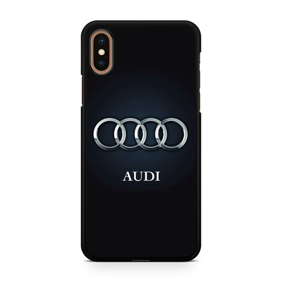Audi Logo 5 T, Custom Phone Case, iPhone Case, iPhone XS Case