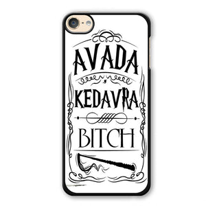 Avada Kadavra Bitch Phonecase Cover Case For Apple Ipod 4 Ipod 5 Ipod 6