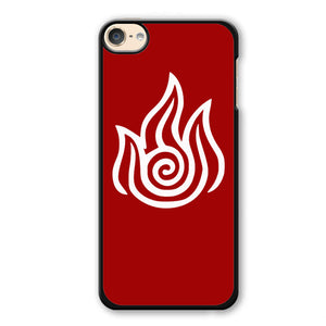 Avatar Firebender Phonecase Cover Case For Apple Ipod 4 Ipod 5 Ipod 6