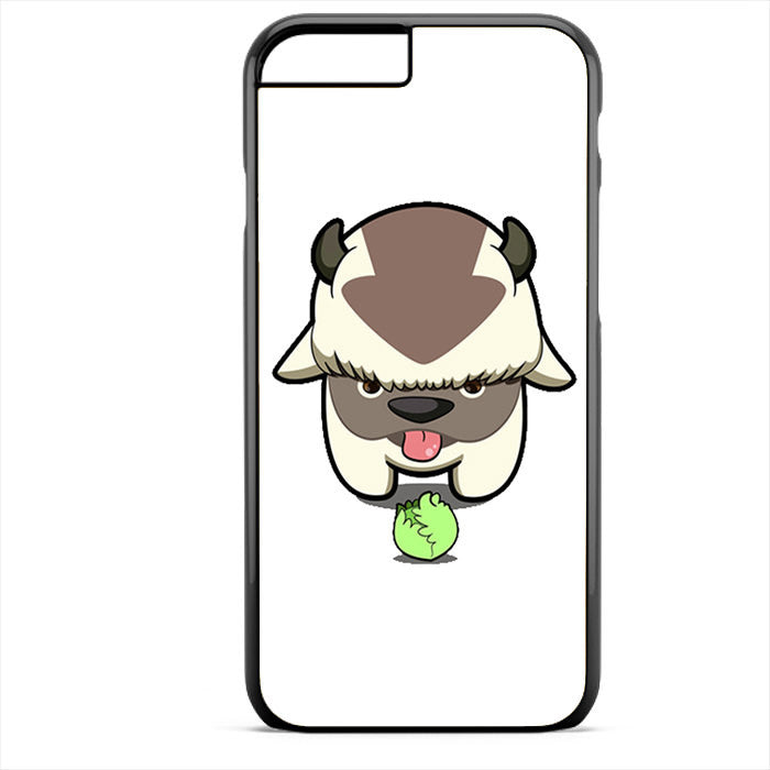 Avatar The Last Air Bender Appa And Cabbage Phonecase For Iphone 4/4S Iphone 5/5S Iphone 5C Iphone 6 Iphone 6S Iphone 6 Plus Iphone 6S Plus