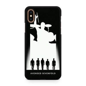 Avenged Sevenfold Siluet, Custom Phone Case, iPhone Case, iPhone XS Case
