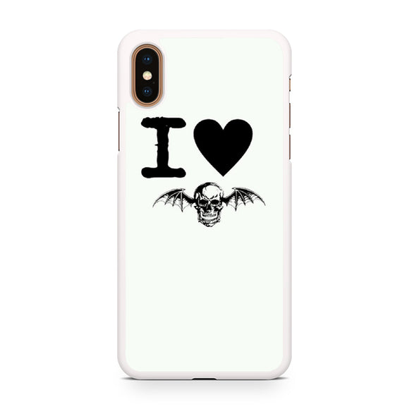 Avenged Sevenfold love, Custom Phone Case, iPhone Case, iPhone XS Case