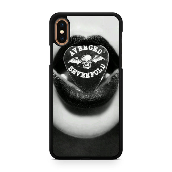 Avenged Sevenfold love 2, Custom Phone Case, iPhone Case, iPhone XS Case