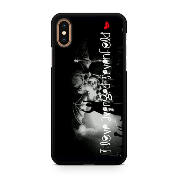 Avenged Sevenfold love 3, Custom Phone Case, iPhone Case, iPhone XS Case