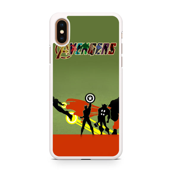 Avenger Art, Custom Phone Case, iPhone Case, iPhone XS Case