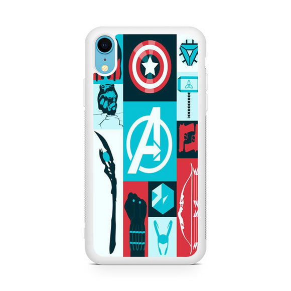 Avengers Things - Z,Custom Phone Case, iPhone XR Case, Tatumcase
