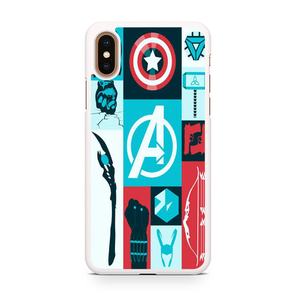 Avengers Things - Z, Custom Phone Case, iPhone Case, iPhone XS Case