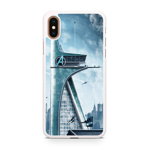 Avengers Tower, Custom Phone Case, iPhone Case, iPhone XS Case