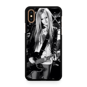Avril Lavigne On Stage, Custom Phone Case, iPhone Case, iPhone XS Case