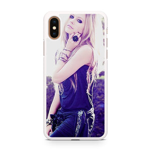 Avril Lavigne Photo Shoot, Custom Phone Case, iPhone Case, iPhone XS Case