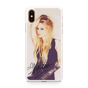 Avril Lavigne Ready To Show, Custom Phone Case, iPhone Case, iPhone XS Case