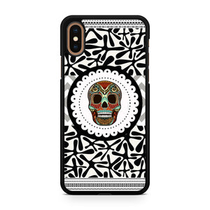 Awesome Aztec Skull, Custom Phone Case, iPhone Case, iPhone XS Case