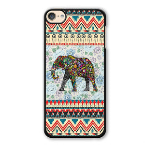 Aztec Elephant Vintage Floral Phonecase Cover Case For Apple Ipod 4 Ipod 5 Ipod 6