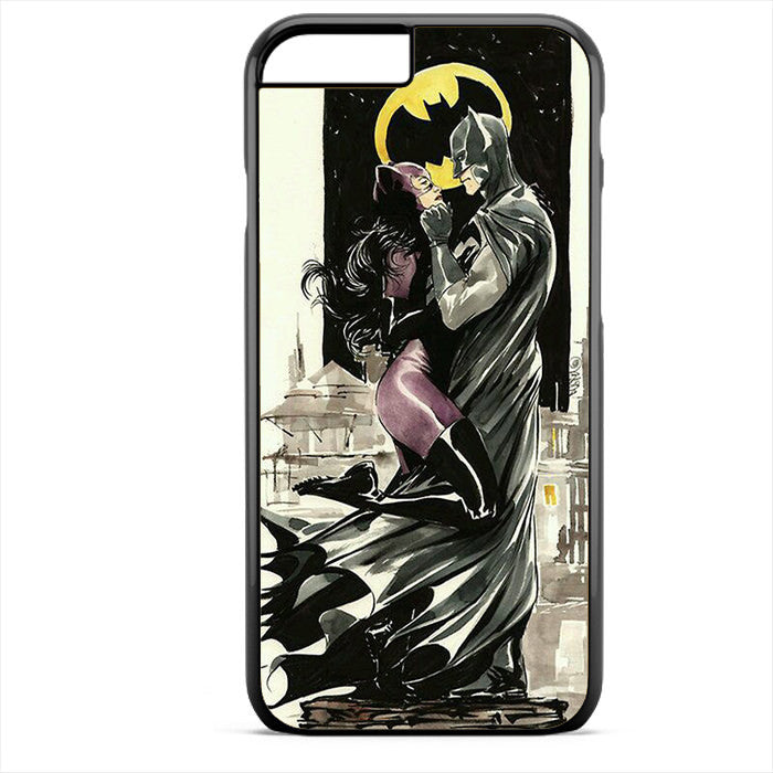 Batman And Cat Woman Romantic Phonecase For Iphone 4/4S Iphone 5/5S Iphone 5C Iphone 6 Iphone 6S Iphone 6 Plus Iphone 6S Plus