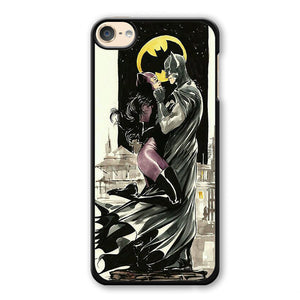 Batman And Cat Woman Romantic Phonecase Cover Case For Apple Ipod 4 Ipod 5 Ipod 6