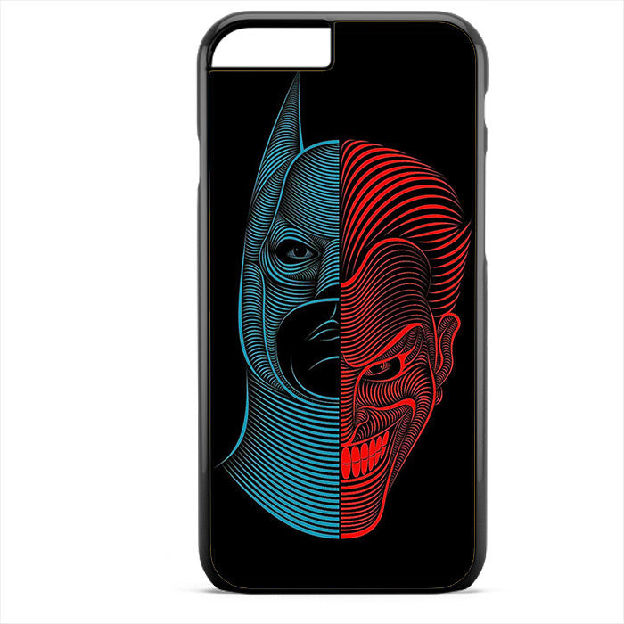 Batman And Joker Abstract Phonecase For Iphone 4/4S Iphone 5/5S Iphone 5C Iphone 6 Iphone 6S Iphone 6 Plus Iphone 6S Plus