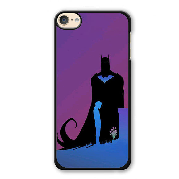 Batman And Young Bruce Wayne Phonecase Cover Case For Apple Ipod 4 Ipod 5 Ipod 6