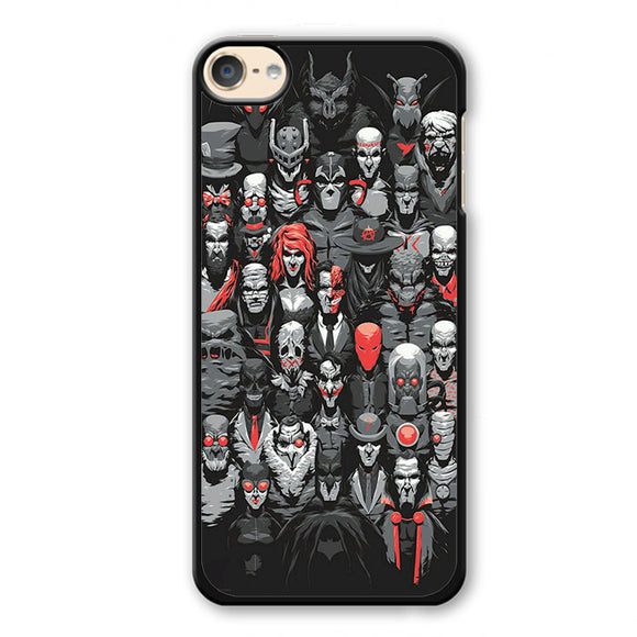 Batman And The Villain Phonecase Cover Case For Apple Ipod 4 Ipod 5 Ipod 6