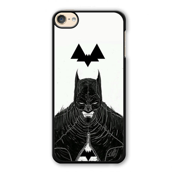 Batman Art And Logo Phonecase Cover Case For Apple Ipod 4 Ipod 5 Ipod 6