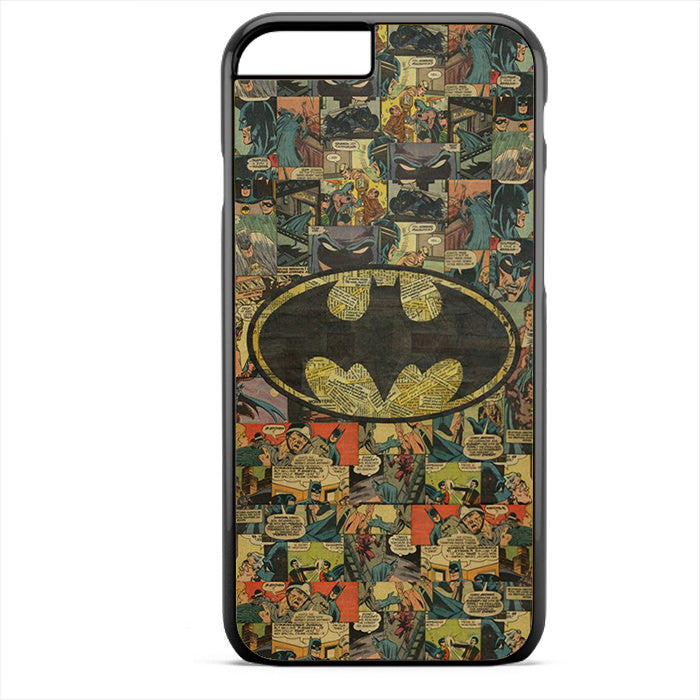 Batman Comic Pattern Phonecase For Iphone 4/4S Iphone 5/5S Iphone 5C Iphone 6 Iphone 6S Iphone 6 Plus Iphone 6S Plus