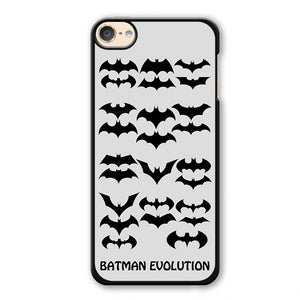 Batman Evolution Phonecase Cover Case For Apple Ipod 4 Ipod 5 Ipod 6