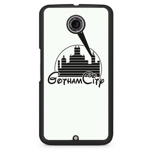 Batman Gotham City Disney Phonecase Cover Case For Google Nexus 4 Nexus 5 Nexus 6