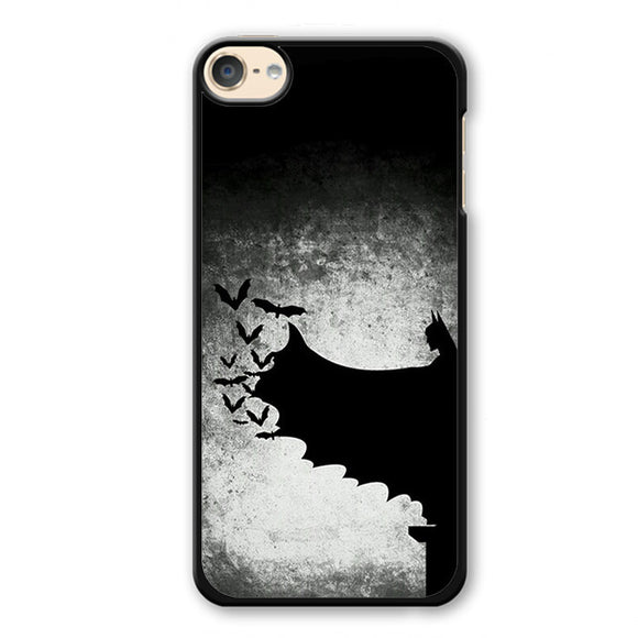 Batman In Shadow Phonecase Cover Case For Apple Ipod 4 Ipod 5 Ipod 6