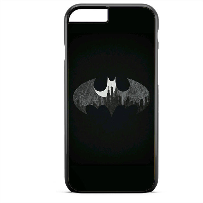 Batman Logo Black And White Phonecase For Iphone 4/4S Iphone 5/5S Iphone 5C Iphone 6 Iphone 6S Iphone 6 Plus Iphone 6S Plus
