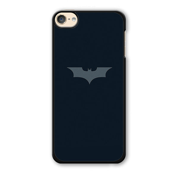 Batman Logo In Dark Blue Phonecase Cover Case For Apple Ipod 4 Ipod 5 Ipod 6