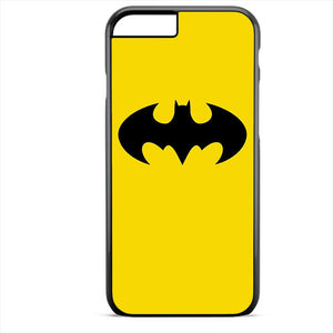 Batman Logo In Yellow Phonecase For Iphone 4/4S Iphone 5/5S Iphone 5C Iphone 6 Iphone 6S Iphone 6 Plus Iphone 6S Plus