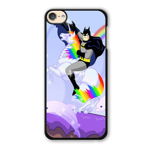 Batman Riding Unicorn Phonecase Cover Case For Apple Ipod 4 Ipod 5 Ipod 6