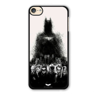 Batman The Legend Ends Phonecase Cover Case For Apple Ipod 4 Ipod 5 Ipod 6