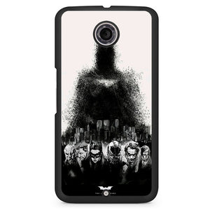 Batman The Legend Ends Phonecase Cover Case For Google Nexus 4 Nexus 5 Nexus 6