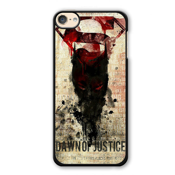 Batman V Superman Dawn Of Justice Phonecase Cover Case For Apple Ipod 4 Ipod 5 Ipod 6