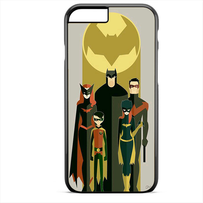 Batman And His Fiends Art Phonecase For Iphone 4/4S Iphone 5/5S Iphone 5C Iphone 6 Iphone 6S Iphone 6 Plus Iphone 6S Plus