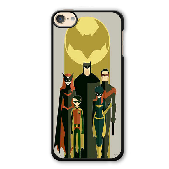 Batman And His Fiends Art Phonecase Cover Case For Apple Ipod 4 Ipod 5 Ipod 6