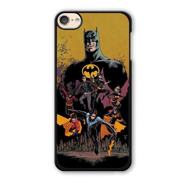 Batman And His Fiends Phonecase Cover Case For Apple Ipod 4 Ipod 5 Ipod 6