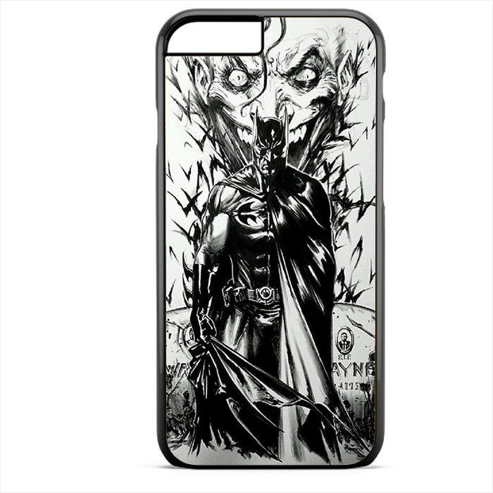 Batman And Joker Art Phonecase For Iphone 4/4S Iphone 5/5S Iphone 5C Iphone 6 Iphone 6S Iphone 6 Plus Iphone 6S Plus