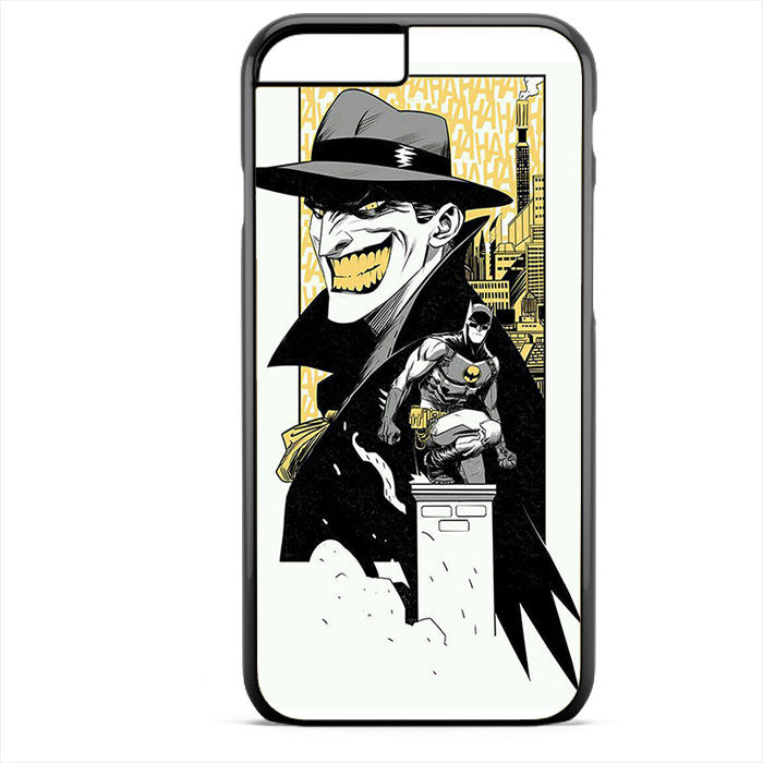Batman And Joker Comic Phonecase For Iphone 4/4S Iphone 5/5S Iphone 5C Iphone 6 Iphone 6S Iphone 6 Plus Iphone 6S Plus