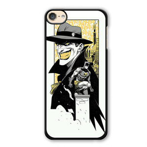 Batman And Joker Comic Phonecase Cover Case For Apple Ipod 4 Ipod 5 Ipod 6