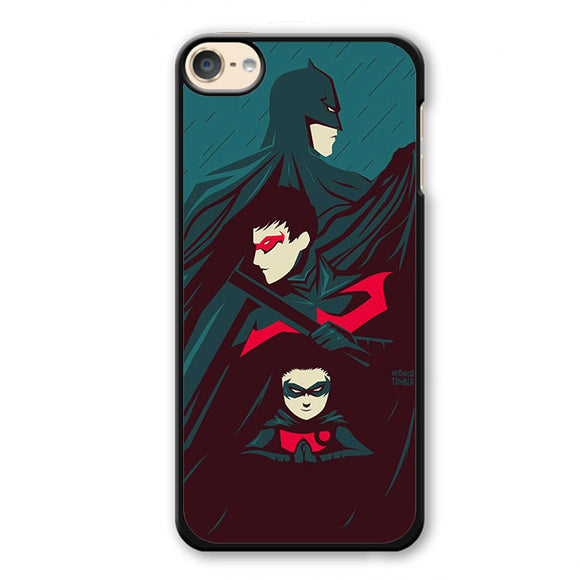 Batman And Robins Phonecase Cover Case For Apple Ipod 4 Ipod 5 Ipod 6