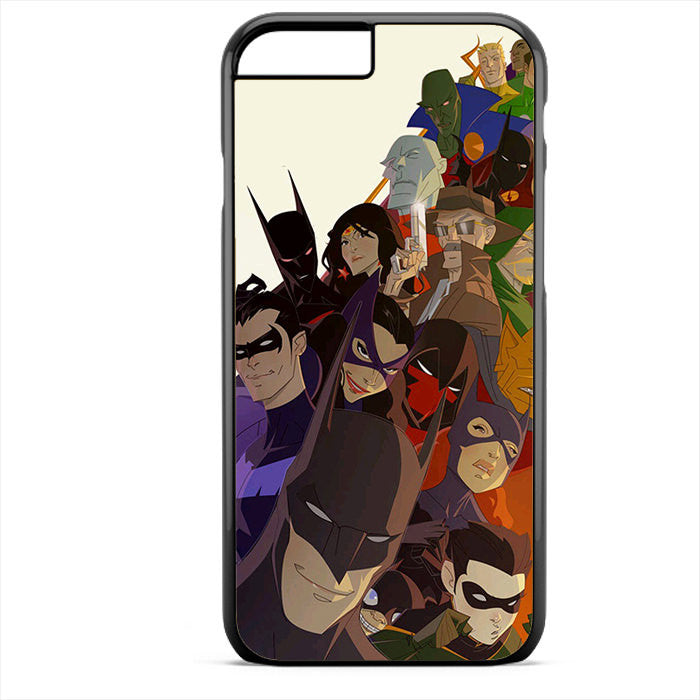 Batman And His Justice League Phonecase For Iphone 4/4S Iphone 5/5S Iphone 5C Iphone 6 Iphone 6S Iphone 6 Plus Iphone 6S Plus
