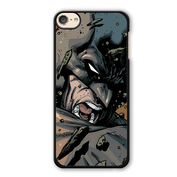 Batman In Comic Phonecase Cover Case For Apple Ipod 4 Ipod 5 Ipod 6