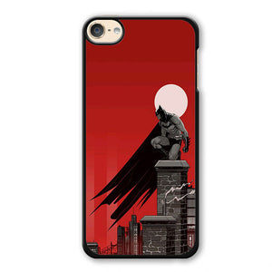 Batman In Red Phonecase Cover Case For Apple Ipod 4 Ipod 5 Ipod 6