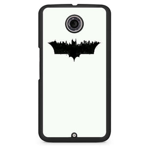 Batman Logo City Pattern Phonecase Cover Case For Google Nexus 4 Nexus 5 Nexus 6