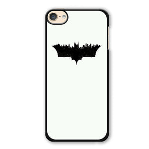 Batman Logo City Pattern Phonecase Cover Case For Apple Ipod 4 Ipod 5 Ipod 6